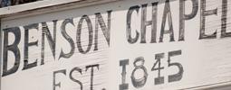 Find Benson Chapel